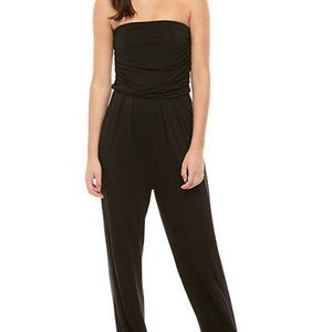 NWT Love, Fire Strapless Knit Pocket Jumpsuit